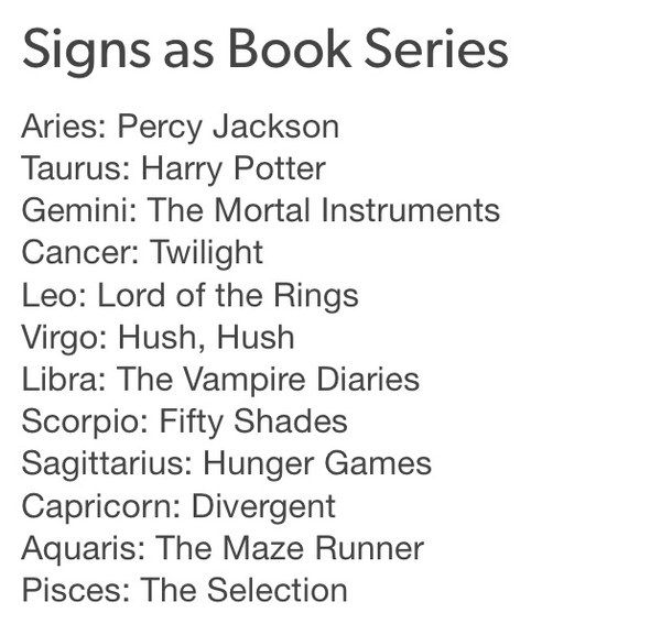 zodiac signs in percy jackson - Google Search