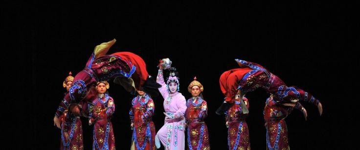Les tois combats  de Tao Sanchun, Opéra de Pekin