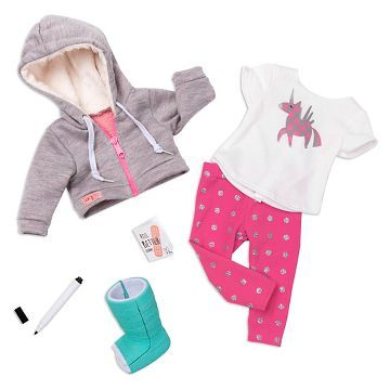 Our Generation® Deluxe Outfit - Get Well Soon™