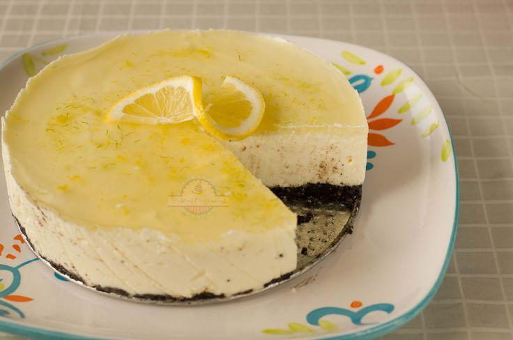 Tarta Mousse de Limon y Lima con Queso Mascarpone
