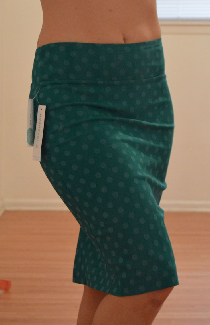 Yes please!!! So cute! Margaret M Christiana skirt. Love the color and the polka dot details!