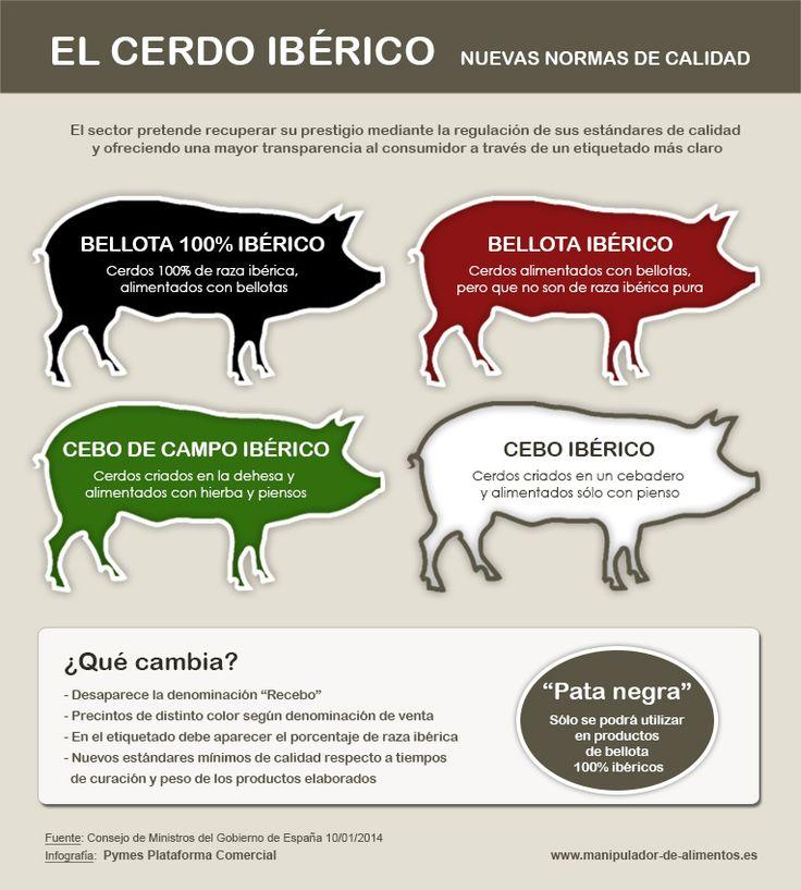 Cerdo Ibérico. Nuevas Normas de Calidad  http://www.manipulador-de-alimentos.es/blog/cerdo-iberico/