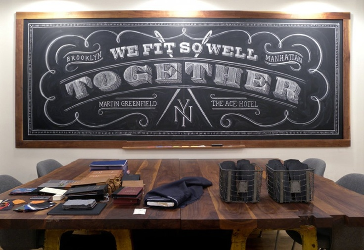 Dana Tanamachi is a master in chalk lettering! Just see for yourself!