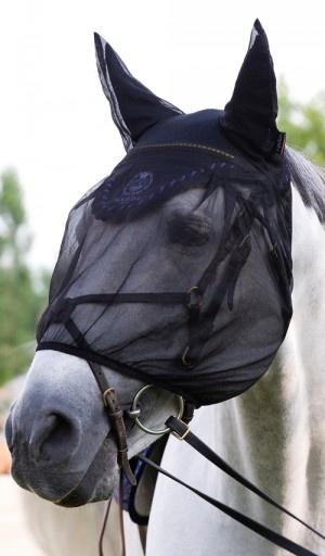 Masque anti-mouches pour cheval