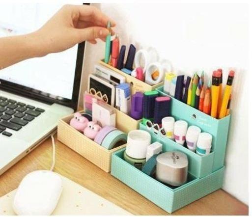 Opbergbox pastel - Zelf in elkaar te zetten!  wow dat is handig