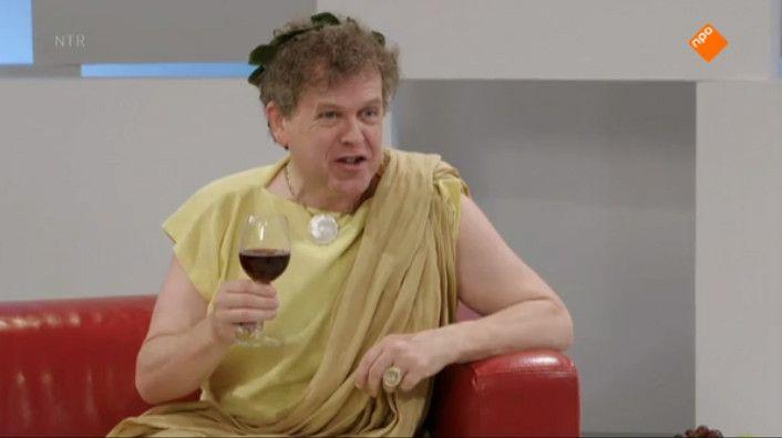 De grote schrijver Ovidius (Marc-Marie Huijbregts) zit op de bank bij Dorine. Hij vertelt over het dagelijks leven van de Romeinen. Maar waarom is Ovidius verbannen? Met hoeveel mensen kan je tegelijk op de wc? En wat voor lijfstraffen kun je krijgen op school? Met o.a. de sketches ' Colosseum', ' Vestaalse maagden' en 'De wasserette'. Deze serie is geschreven en geregisseerd door Niek Barendsen.