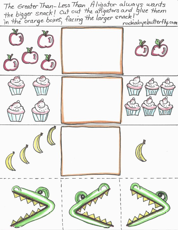 17 Best Images About Greater Than Less On Pinterest Place Value Worksheets Kindergarten