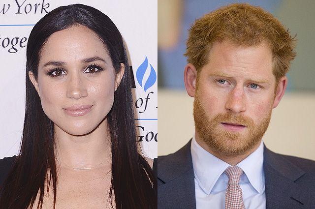 """Меган Маркл отложила съемки в """"Форс-мажорах"""" ради свидания с принцем Гарри в Лондоне"""