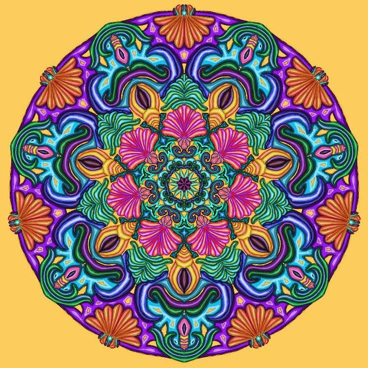 Mandala de conchas by Asarrab