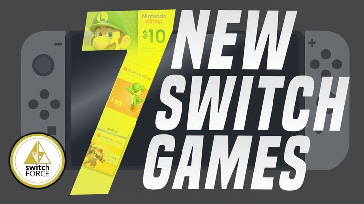 7 NEW Switch Games Just Announced! (New Nintendo eShop or Switch Games 2…