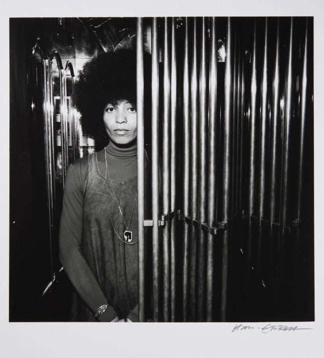 Hans Gedda. 'Angela Davis' c. 1972