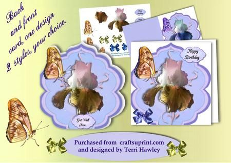 a great front and back card, one designs two styles, your choice.  This card comes in 3 colours, and all have 4 different labels, and a blank to use your own, so it can be used in so many different ways. I hope you have fun with this design.