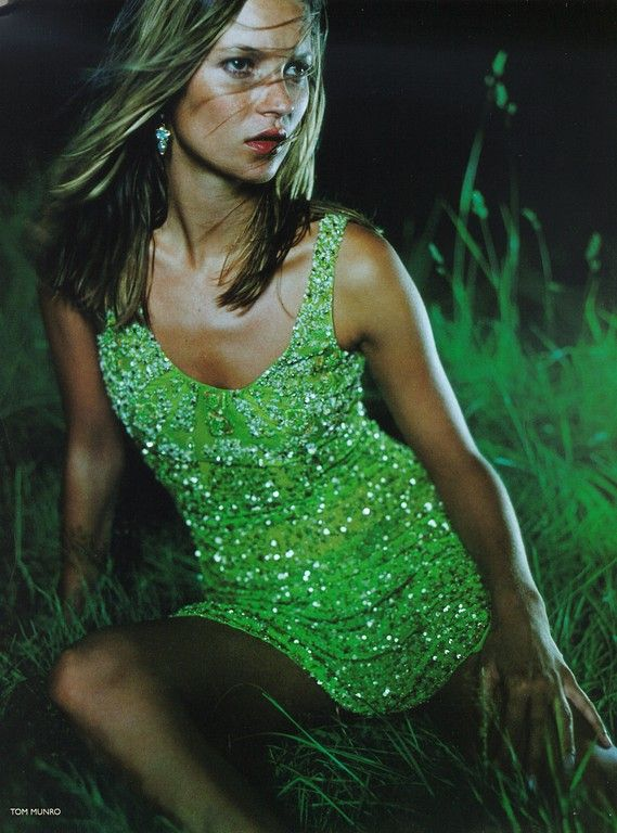 ☆ Kate Moss | Photography by Tom Munro | For Vogue Magazine UK | November 1997 ☆