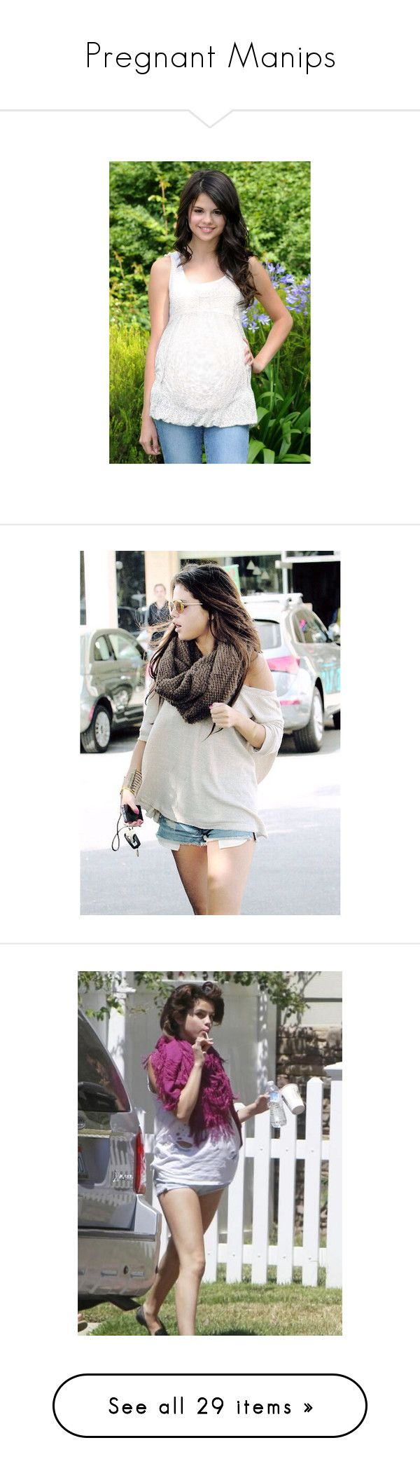 """Pregnant Manips"" by harrysdimplebaby ❤ liked on Polyvore featuring selena gomez, pregnant, selena, my anon, pregnancy, babies, manips, sarry, harlena and maternity"