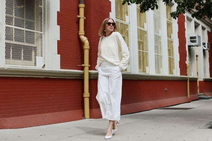 ALL WHITE | Hanna Stefanssons blogg på ELLE.se!