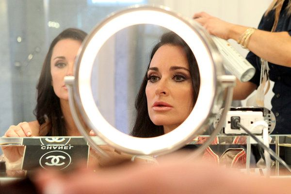 The Biggest Beauty Lesson Kyle Richards Learned from Watching Herself on TV