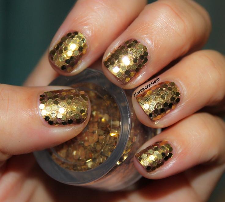 Nyc Metallic Nail Polish: 34 Best Images About Metallic Gold Nail Polish On