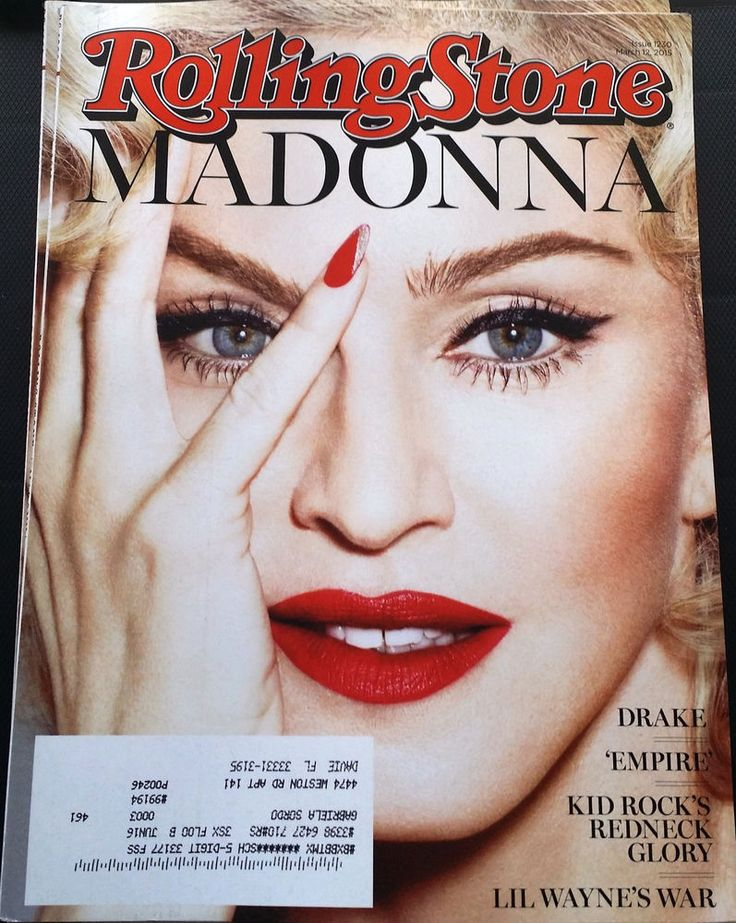 Madonna Rolling Stone # 1230 March 2015 Music Lifestyle Celebrity English News