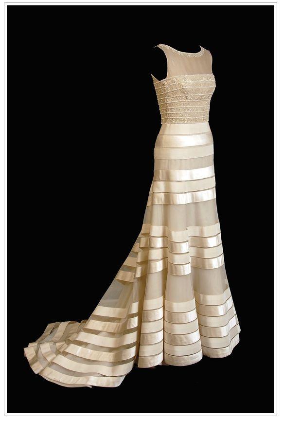 striped Wedding Dresses | Our Wedding: My wedding dress inspiration | My Roaring 40s