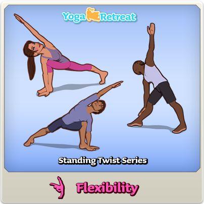 8 best yoga retreat / yoga pose series images on pinterest