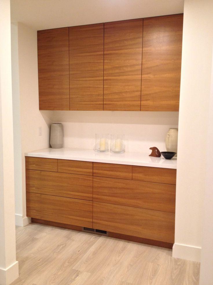 IKEA® kitchen with Semihandmade Flatsawn Teak fronts. in ...