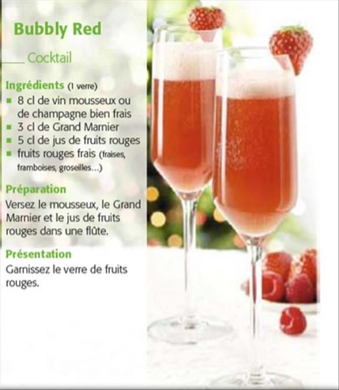 bubbly red