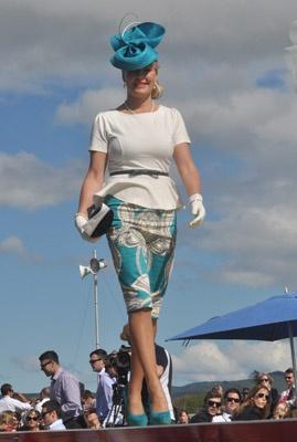 Hastings races: Fashion in the Field - Monika Neuhauser Millinery