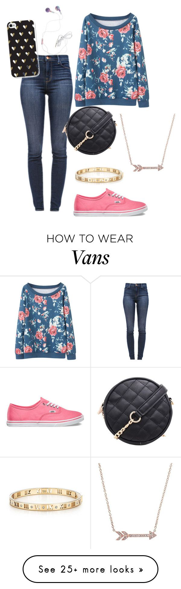 """""""Untitled #83"""" by minnie174 on Polyvore featuring J Brand, Vans and Tiffany & Co."""