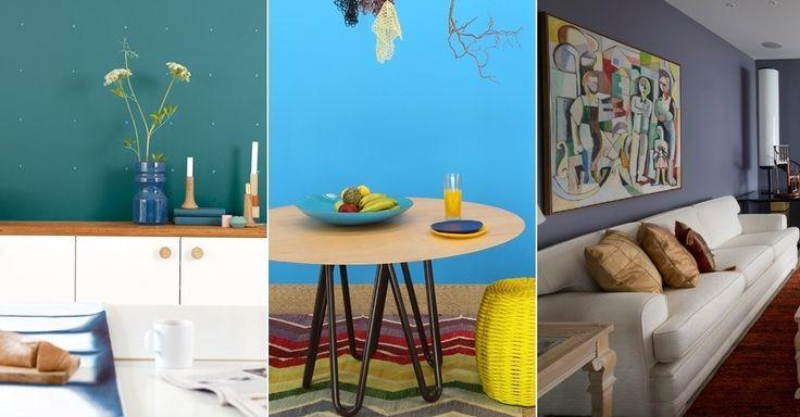 Fique por dentro das tendências de cores para 2014. Além do azul esverdeado, tons de azul e cinza-roxo e amarelo intenso estão em alta.