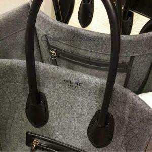 Dream Closet: Celine Grey Wool Phantom Bag | Preppy Chic, Classic ...