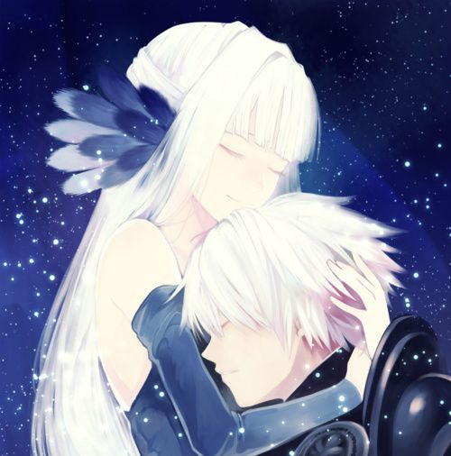 Beautiful Anime Guy With White Hair