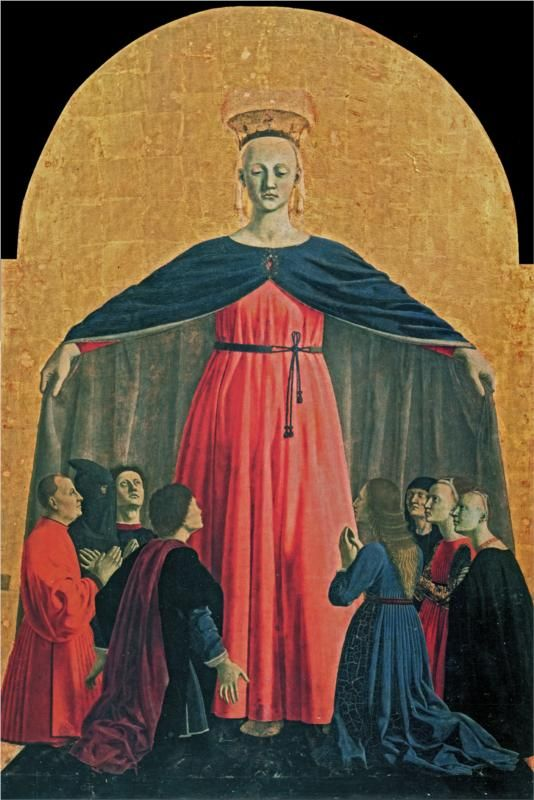 Piero della Francesca, The Madonna of Mercy, c. 1445