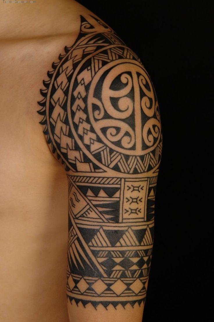 Maori Motive mit wichtiger Bedeutung - Speerspitzen