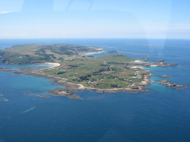 Coming in to Land at Alderney