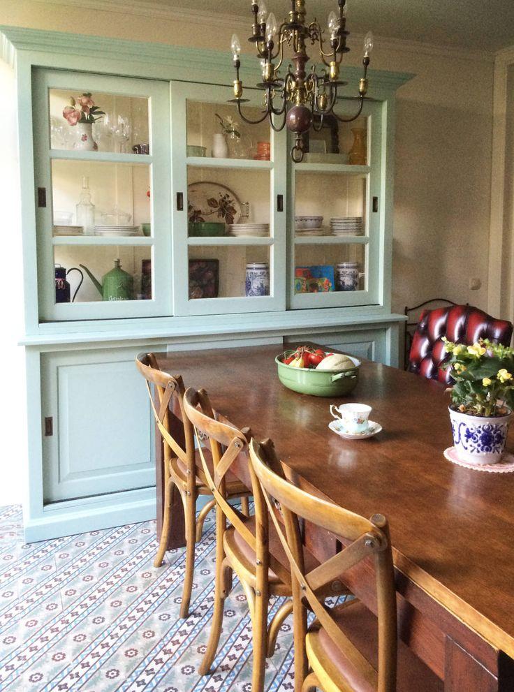 Kaartje of Kip KIPPENHOK keuken : Landelijke eetkamers van Kaartje of Kip