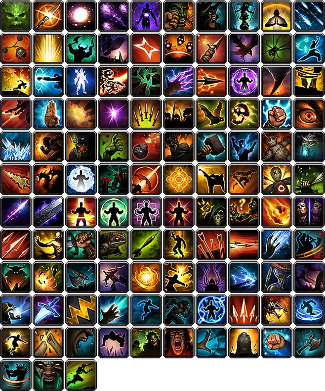 Macro Icon Pack from Diablo 3 by TSG-Arakara.deviantart.com on @deviantART