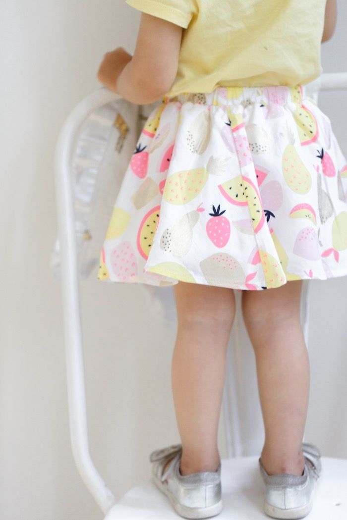 Birthday Girl's Skirt from a Tutti Frutti Birthday Party via Kara's Party Ideas | KarasPartyIdeas.com (38)