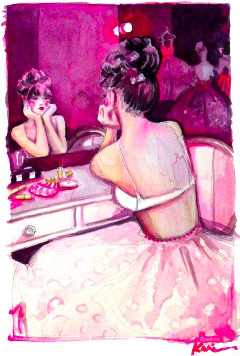 dancer   Katie Rodgers  #watercolor #illustration