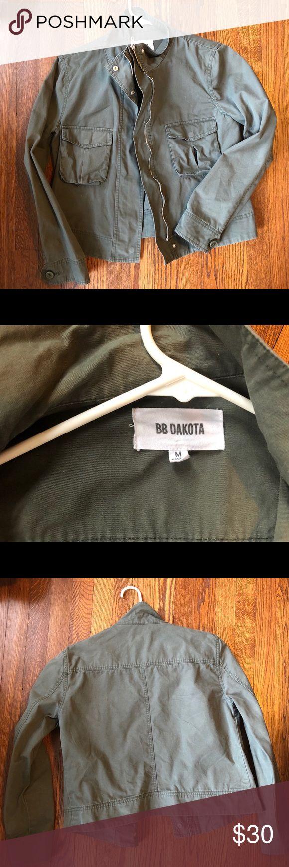B.B. Dakota army style jacket Stylish army/military style jacket - bought off Shopbop - great condition BB Dakota Jackets & Coats