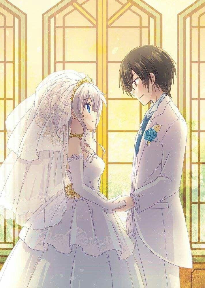 ♡ On Pinterest @ kitkatlovekesha ♡ ♡ Pin: Anime ~ Charlotte ~ Nao x Yuu Wedding ♡