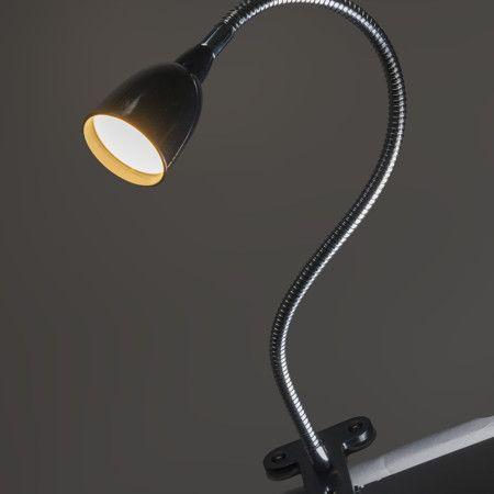 Lovely  Klemmleuchte Flex schwarz LED u erst schicke Klemmleuchte aus der Flex Serie Diese sch ne Leuchte ist nie fehl am Platz und passt berall hin