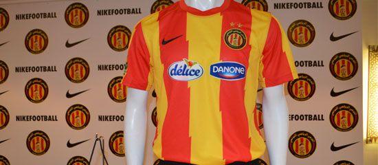 Tunis Blog Sport, blog du marketing sportif: L'Espérance Sportive de Tunis dévoile son nouveau maillot 2013/2014