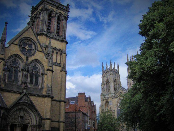 looking towards York Minster - nice angles
