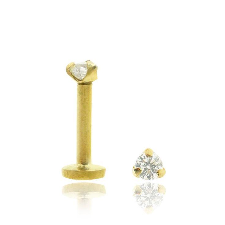 Bijou de piercing de tragus en or jaune 18 carats. C-bo.fr vous présente ses collections de bijoux et d'idées cadeaux pour tous vos piercings.