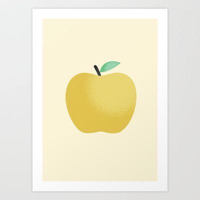 Apple 22 Art Print by Rhett