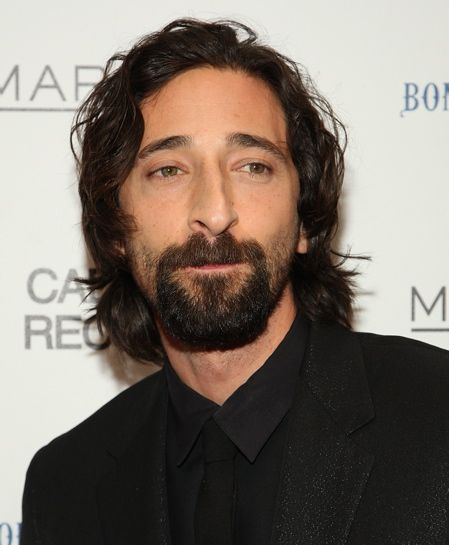 Adrian Brody with  door knocker  style facial hair photograph  sc 1 st  Pinterest & 11 best The Best Celebrity Beards images on Pinterest | Beard care ... pezcame.com