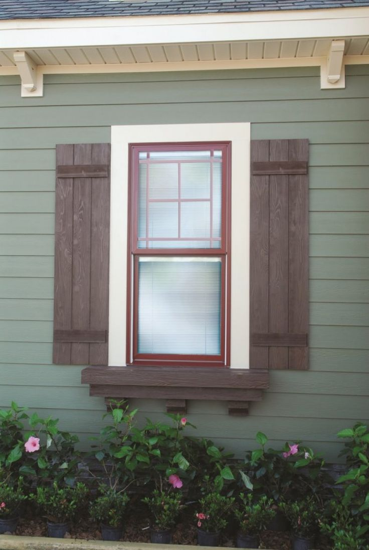 Five Fast Fypon Spring Home Improvement Projects I Like The Exterior Color And Shutter Design