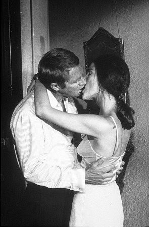 THE GETAWAY (1972) - Steve McQueen & Ali MacGraw portray husband & wife fugitives from the law - Based on novel by Jim Thompson - Directed by Sam Peckinpah - First Artists - Publicity Still.