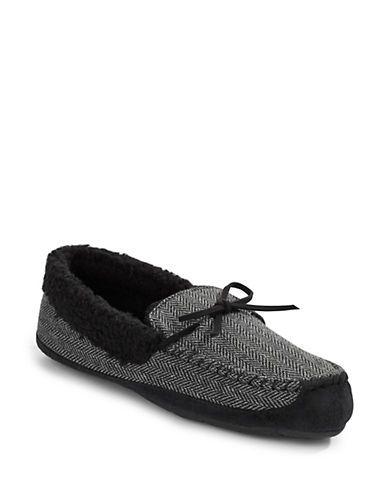 http://www.thebay.com/webapp/wcs/stores/servlet/en/thebay/brands/mens-slippers/herringbone-faux-shearling-slippers-0098-71pl67c004--24
