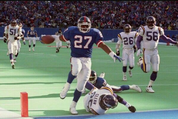 Rodney Craig Hampton is a former professional American football player who was drafted by the New York Giants in the first round of the 1990 NFL Draft.